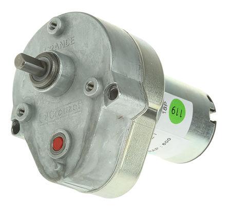 Crouzet - 82 869 015 - Crouzet 直流�X���与���C 82 869 015, �刷型, 24 V 直流, 2 Nm, 7.2 rpm, 3 W