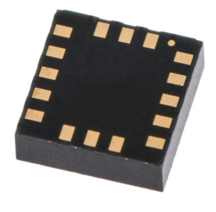 STMicroelectronics - A3G4250DTR - STMicroelectronics A3G4250DTR 3轴 陀螺仪, I2C, SPI接口, 0 → 400 kHz, 2.4 → 3.6 V电源, 16引脚 LGA封装