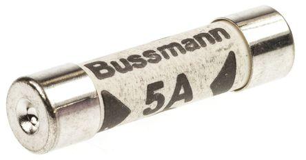 Cooper Bussmann - TDC180-5A - Cooper Bussmann F熔断速度 5A 管式熔断器 TDC180-5A, 6.3 x 25.4mm
