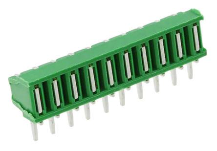 TE Connectivity - 1-5164711-0 - TE Connectivity Mini-Match 系列 10路 2.5mm节距 直角 母 IDC 连接器 1-5164711-0, 通孔