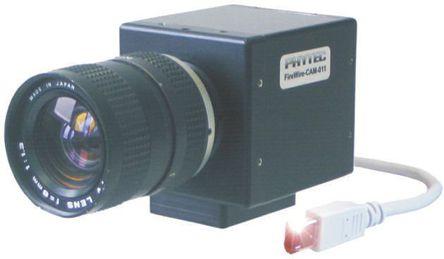Phytec - AK064 - Phytec FireWire CAM 系列 室内 黑白CCD摄像机 CCTV 摄像机 AK064, 1024 x 768 像素, 8 → 30V dc