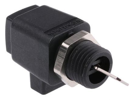 Schutzinger - ESD798 BLK - Schutzinger 6.3mm 黑色 绝缘 接线柱 ESD798 BLK, 300V, 16A额定电流