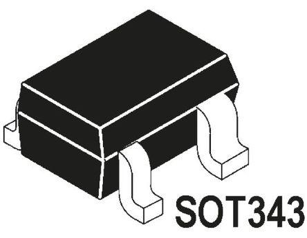Broadcom - ATF-54143-BLKG - ATF-54143-BLKG HEMT, 120 mA 5 V 单双源, 4针 SOT-343封装
