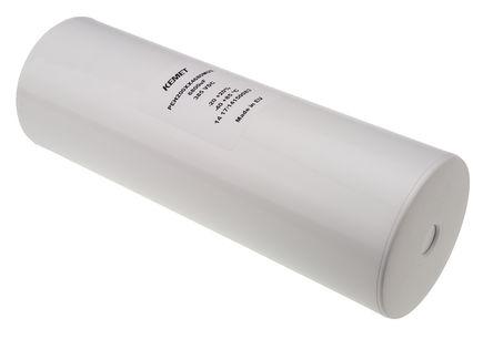 KEMET - PEH200XX4680MU2 - KEMET PEH200 系列 385 V 直流 6800μF 底盘安装 铝电解电容器 PEH200XX4680MU2, ±20%容差, 14mΩ(等值串联), 最高+85°C, 罐 - 螺钉接线端子,径向封装