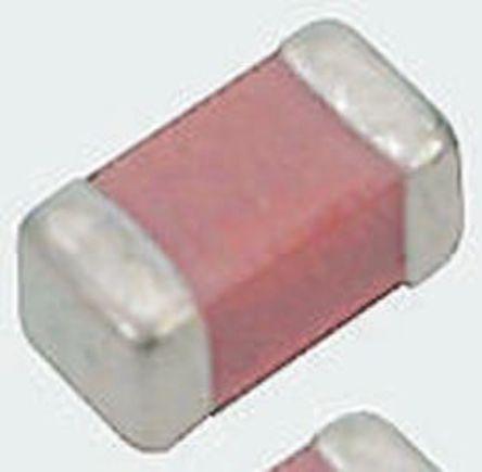Murata - GRM31CB31C106KA88L - Murata GRM 系列 10μF 16 V 直流 B电介质 SMD 多层陶瓷电容器 (MLCC) GRM31CB31C106KA88L, ±10%容差, 1206封装