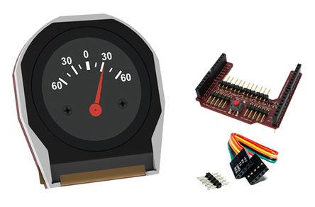 4D Systems - uLCD-220RD-AR - 4D Systems Diablo16 系列 1.38in TFT �@示屏, 220 x 220pixels 分辨率, LED背光 串行 接口