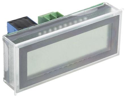 Murata Power Solutions - DMS-40LCD-4/20S-C - Murata 4.5位 LED 数字电流表 DMS-40LCD-4/20S-C, 53.8 x 22.3 mm, 0 → +50 °C