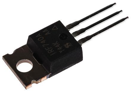 Vishay - IRF740APBF - Vishay N沟道 Si MOSFET IRF740APBF, 10 A, Vds=400 V, 3引脚 TO-220AB封装