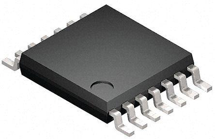 STMicroelectronics - M74HC126YTTR - M74HC126YTTR HC 四总线缓冲器, 160 ns@ 150 pF, 7.8mA, 2 → 6 V, 14引脚 TSSOP封装