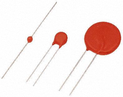 Vishay - 238159351316 - Vishay VDRS - E 系列 320pF 10A 340V 金属氧化物压敏电阻 238159351316, 9 (Dia.) x 4.2mm