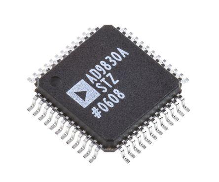 Analog Devices - AD9830ASTZ - AD9830ASTZ, 10 位-Bit 50000ksps 直接数字合成器, 48针 LQFP封装