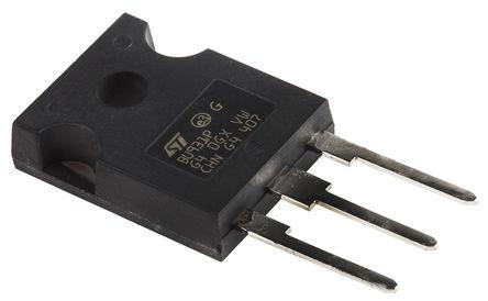 STMicroelectronics - BU931P - STMicroelectronics BU931P NPN 达林顿晶体管对, 15 A, Vce=400 V, HFE=300, 3引脚 TO-247封装