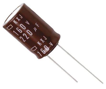 Nippon Chemi-Con - EKXJ201ELL151MK35S - Nippon Chemi-Con KXJ 系列 200 V 直流 150μF �X�解�容器 EKXJ201ELL151MK35S, ±20%容差, 最高+105°C, K35封�b