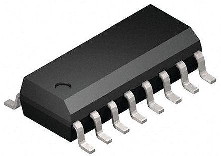 STMicroelectronics - M74HC259YRM13TR - STMicroelectronics M74HC259YRM13TR 1位 D 型 可寻址 弹簧锁, 单端输出, 2 → 6 V电源, 16引脚 SOIC封装