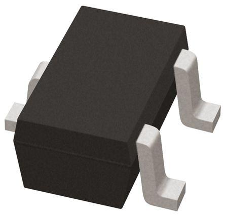 ROHM - 2SC5876T106R - ROHM 2SC5876T106R , NPN 双极晶体管, 500 mA, Vce=60 V, HFE:120, 10 MHz, 3引脚 UMT封装