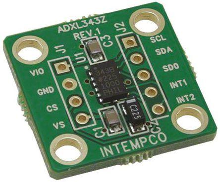 Analog Devices - EVAL-ADXL343Z - Analog Devices 3 轴加速计 EVAL-ADXL343Z