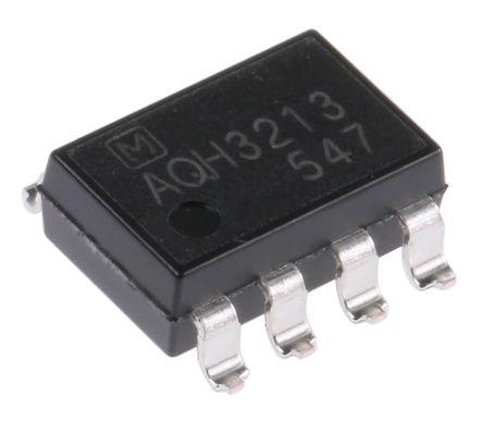 Panasonic - AQH3213A - Panasonic 1.2 A PCB安装 固态继电器 AQH3213A, 零交叉切换, 600 V
