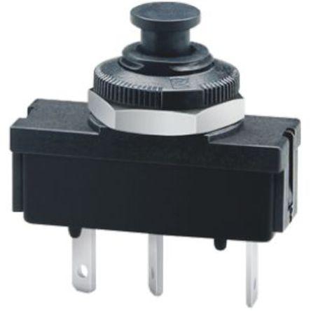 ETA - 1410-G111-P2F1-S01-1,5A - ETA 1410-G1 系列 1.5A 1极 热磁断路器 1410-G111-P2F1-S01-1,5A, 48, 240V dc, V ac