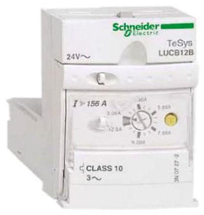 Schneider Electric - LUCC12BL - Schneider Electric TeSys U-Line 系列 2.2 kW 高级控制单元 LUCC12BL, 24 V 直流, 3 → 12 A