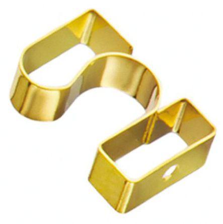 Wurth Elektronik - 331161452070 - Wurth Elektronik 镀金铍铜 屏蔽条 331161452070, 安装螺钉固定, 4.5mm长 x 2mm宽 x 7mm厚
