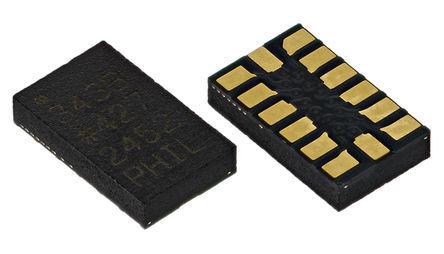 Analog Devices - ADXL343BCCZ - Analog Devices ADXL343BCCZ 3轴 加速表, 串行-3 线、串行-4 线、串行-I2C、串行-SPI接口, 6.25 → 200 Hz, 2 → 3.6 V电源, 14引脚 LGA封装