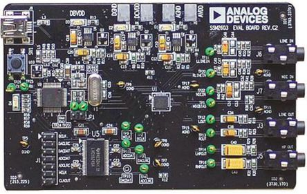 Analog Devices - SSM2603-EVALZ - Analog Devices 模拟开发套件 SSM2603-EVALZ