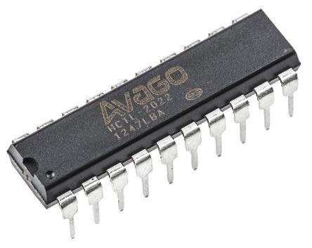 Broadcom - HCTL-2022 - Broadcom HCTL-2022 解码器, 20引脚 PDIP封装