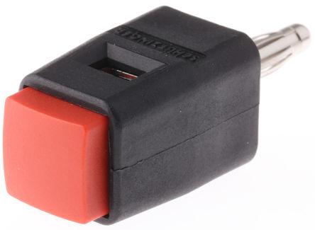 Schutzinger - SDK 502 / RT - Schutzinger SDK 502 / RT 红色 4mm 插座, 30 V ac, 60 V dc 16A, 镀镍触点