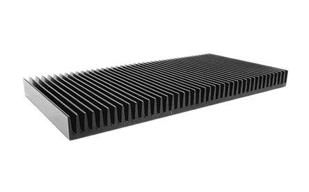 ABL Components - 122AB2000B - ABL Components 100 系列 铝 散热器 122AB2000B, 0.23°C/W, PCB(印刷电路板)安装安装, 200 x 200 x 15mm