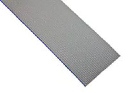 3M - HF539/10 100FT - 3M HF539 系列 30m�L 10 路 1.27mm�距 �{色 低��且�o�u (LSZH) �o屏蔽 ��铍��| HF539/10 100FT, 0.5 in ��