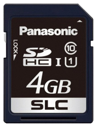 Panasonic - RP-SDF04GDE1 - Panasonic 4 GB 工业用 SD卡