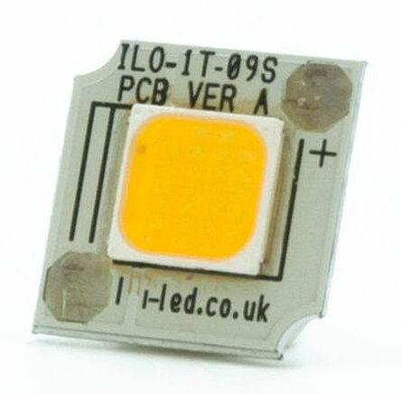 Intelligent LED Solutions - ILO-01TT1-09WM-EC211. - Intelligent LED Solutions ILO-01TT1-09WM-EC211., DURIS S 10 系列 白色 SCOB LED, 3000K 80CRI
