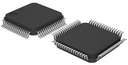 STMicroelectronics - STM32F303RET6 - STMicroelectronics STM32F 系列 32 bit ARM Cortex M4 MCU STM32F303RET6, 72MHz, 512 kB ROM 闪存