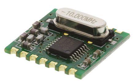 RF Solutions - ALPHA-TRX433S - RF Solutions 射频收发器 ALPHA-TRX433S, 433 MHz频带, 调频调制技术, 2.2 → 3.8V