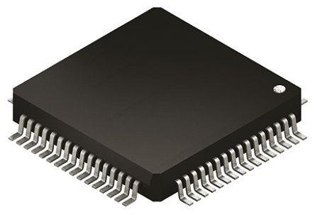 STMicroelectronics - STM32F405RGT6V - STM32F 系列 STMicroelectronics 32 bit ARM Cortex M4 MCU STM32F405RGT6V, 168MHz, 1024 kB ROM 闪存, 192 + 4 kB RAM, 1xUSB
