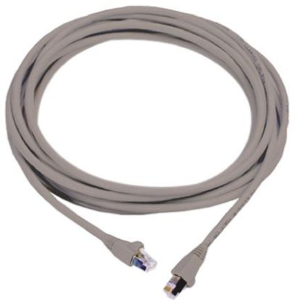 Molex Premise Networks - PCD-07002-0E - Molex Premise Networks 3m 灰色 LSZH 屏蔽双绞线 (STP)屏蔽 6a 类以太网电缆组件 PCD-07002-0E