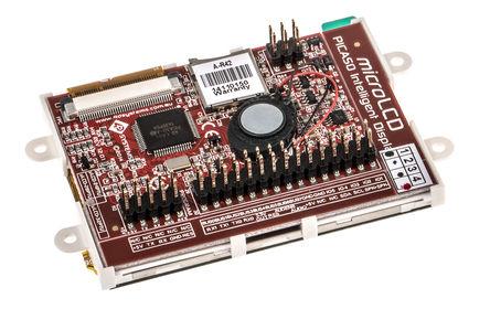 4D Systems - SK-28PTU-AR - 4D Systems ���采集、串行 LCD �_�l套件