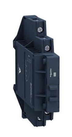 Schneider Electric - SSM1A16BDR - Schneider Electric 6 A DIN轨安装 单极常开 固态继电器 SSM1A16BDR, SCR输出, 零交叉切换, 280 V 交流