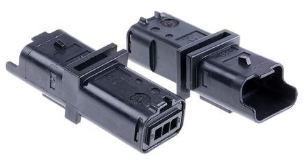 Delphi - 211PL032S0049 - Delphi 211PL 系列 3.33mm �距 1 行 3 路 公 ��|安�b PCB �んw 211PL032S0049