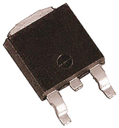 ROHM - RSD050N06TL - ROHM Si N沟道 MOSFET RSD050N06TL, 5 A, Vds=60 V, 3引脚 SC-63封装