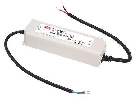 Mean Well - LPV-150-15 - Mean Well LED ��悠� LPV-150-15, 180 → 305 V 交流,254 → 431 V 直流�入, 15V�出, 0 → 8A�出, 120W
