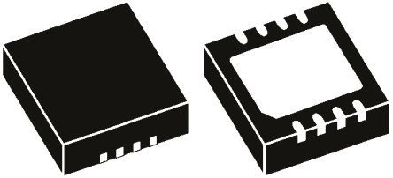 ON Semiconductor - NUF4211MNT1G - ON Semiconductor EMI 滤波器, 最高 5 V, 2 x 2 x 0.95 mm