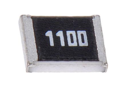 ROHM - MCR25JZHF5100 - ROHM MCR 系列 0.25W 510Ω 厚膜SMD 电阻器 MCR25JZHF5100, ±1%, ±100ppm/°C, 1210 封装