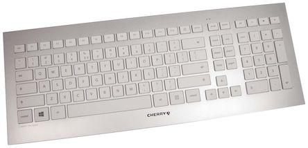 Cherry - JD-0300EU - Cherry 白色(�匙),白色/�y色(外�ぃ� USB �o� QWERTY(美��) �I�P�c鼠�颂准� JD-0300EU
