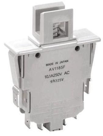 Panasonic - AV12853F - 双刀双掷 - 常开 安全互锁开关, 10.1 A @ 250 V 交流