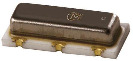 Murata - CSTCC3M58G53-B0 - Murata CSTCC3M58G53-B0 3.58MHz 陶瓷谐振器, 15pF负载, 3针 保护罩芯片封装, 7.2 x 3 x 1.55mm