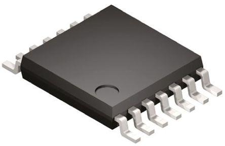 Analog Devices - ADG5404BRUZ - Analog Devices ADG5404BRUZ 多路复用器, 单 4:1, 36 V电源, 14引脚 TSSOP封装
