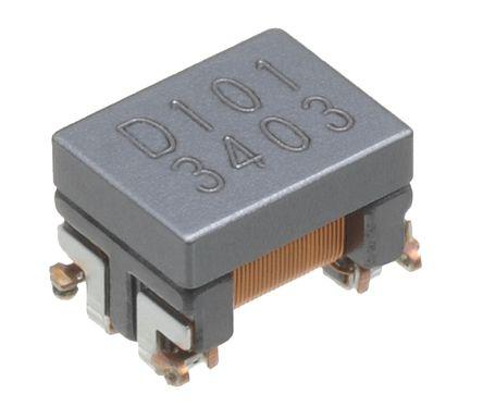 TDK - ACT45L-201-2P-TL000 - TDK ACT 系列 屏蔽 200 μH SMD 共模线路滤波器 ACT45L-201-2P-TL000, -30 → +50%容差, 100mA Idc, 4.5Ω最大直流电阻, 1812封装