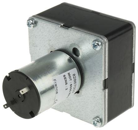 Crouzet - 82867003 - Crouzet 直流�X���与���C 82867003, �刷型, 12 V 直流, 5 Nm, 103 rpm, 3 W