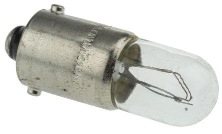 Osram - 3930 - Osram 4 W BA9s 灯座 透明 白炽车灯 3930, 24 V, T4W